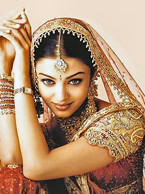 Aishwarya Rai In Bridal Dress Fashio Character Occupation