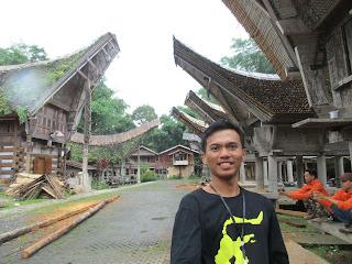 Traditonal house Tongkonan of Toraja
