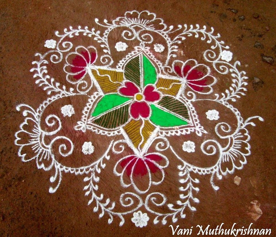 Kolam Designs 37