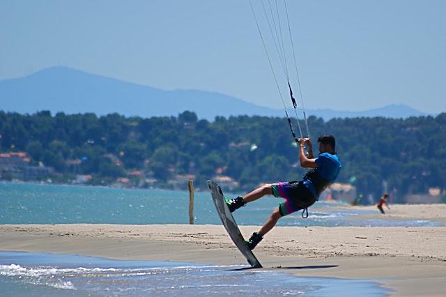 Le rouet windsurf kitesurf la franqui leucate Kevin Hoorens core kites