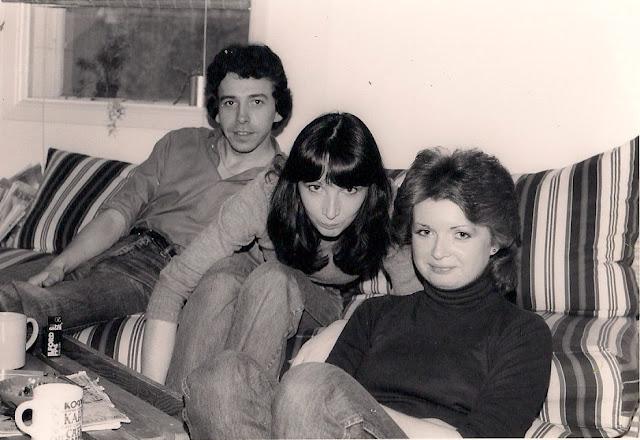 Deb, Ken and me. Stewart St Ottawa 1981