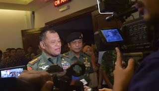 Panglima TNI Jendral Gatot : Indonesia Tanpa Umat Muslim Bukan Indonesia - Commando