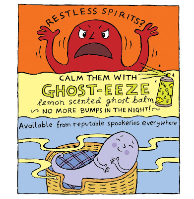 Ad for Ghost-eeze lemon-scented ghost balm