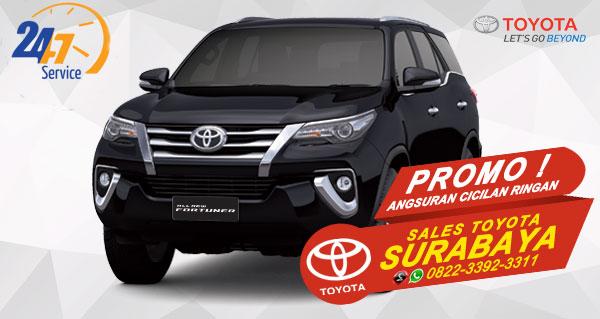Promo Angsuran Cicilan Ringan Toyota Fortuner Surabaya
