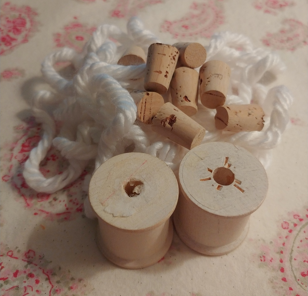 sheep ornament supplies