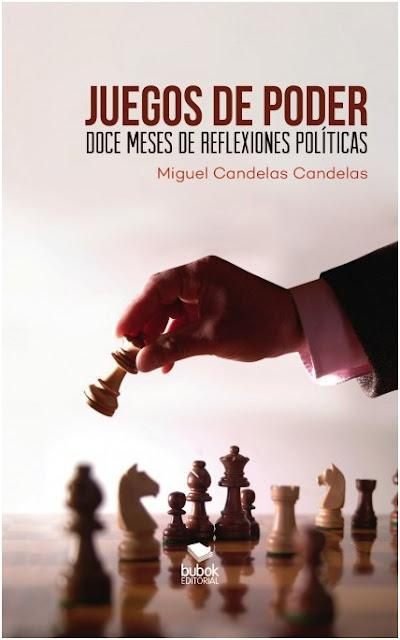 """Miguel Candelas, autor de """"Juegos de Poder"""""""