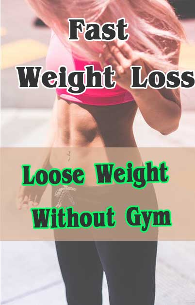 LOOSE WEIGHT WITHOUT GYM