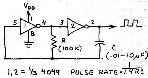 electronic circuits for beginners  clock pulse generator