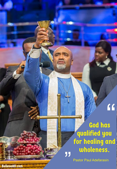"#HOTRCommunion: Pastor Paul Adefarasin #Quotes On ""Qualified And Declared Righteous"""