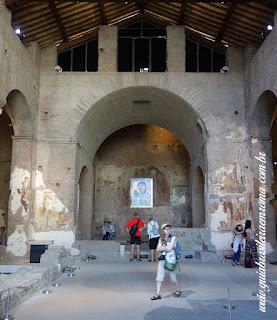 Santa Maria Antiqua FOro Romano Guia Roma Portugues - Igreja de Santa Maria Antiqua no Foro Romano