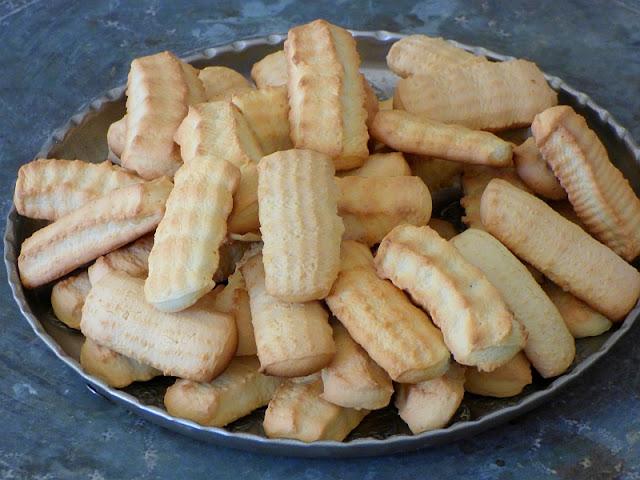 Ägyptisches Spritzgebäck Fest Zuckerfest Ramadan Hirschhornsalz Rezept