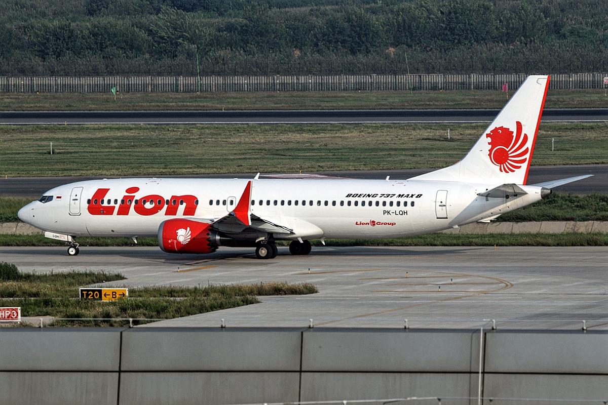 Lion Air Boeing 737 MAX 8