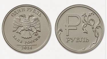 графическое изображение рубля