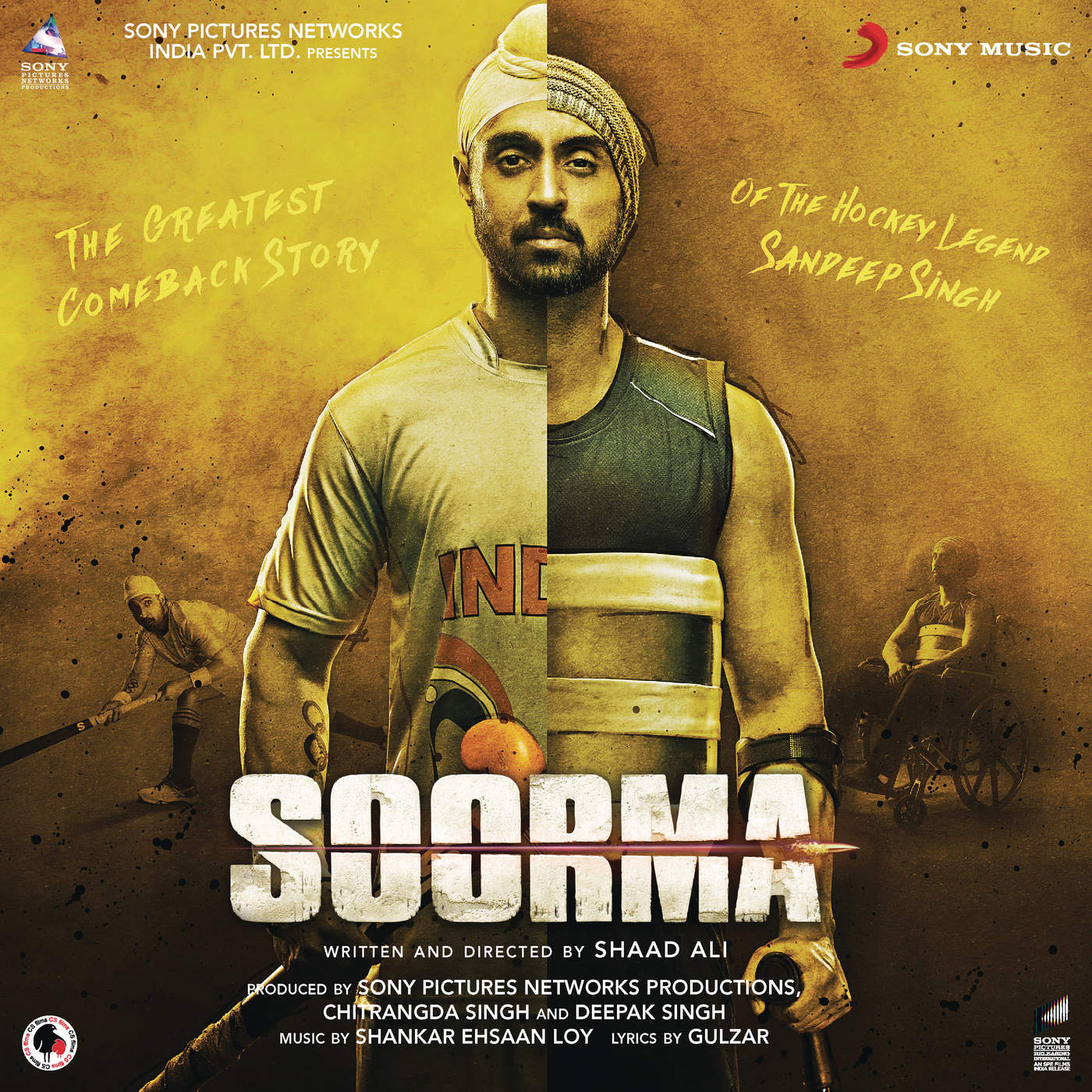 I Am A Rider Song Download 320kbps: Music Riders Bollywood: Soorma (2018) Hindi Mp3 [320 Kbps]