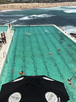 Image of A Sea Side Swimming pool: This article is about Swimming Lessons & Time Management