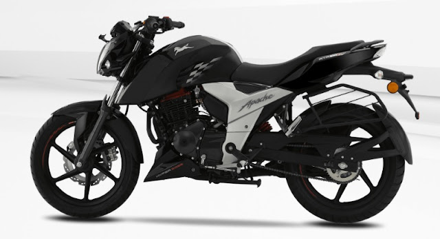 New 2018 TVS Apache RTR 160 4V Younger bike