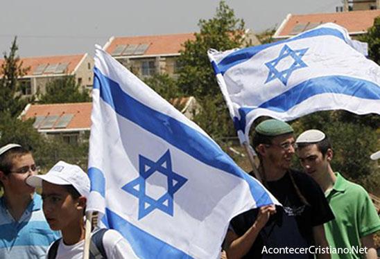 Colonos judíos en Cisjordania