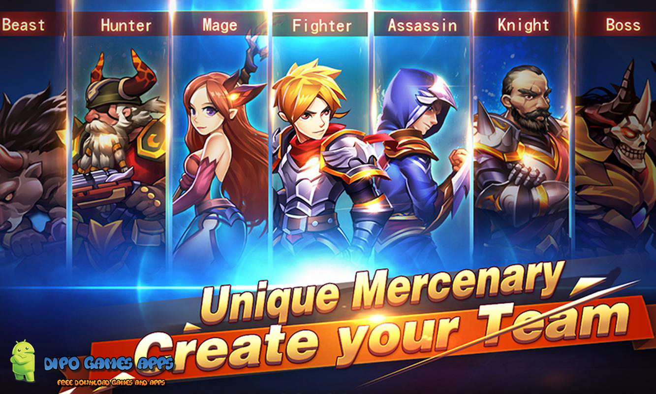download game brave fighter 2 mod apk android