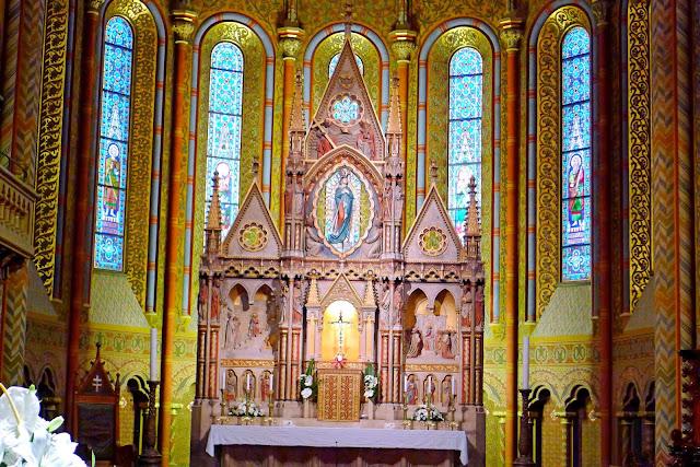 Matthias Church Altar