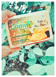 Greenviv Herbals Coffee & Shea Butter Soap Review