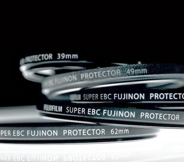 Filtri protettivi per le ottiche della Fuji X