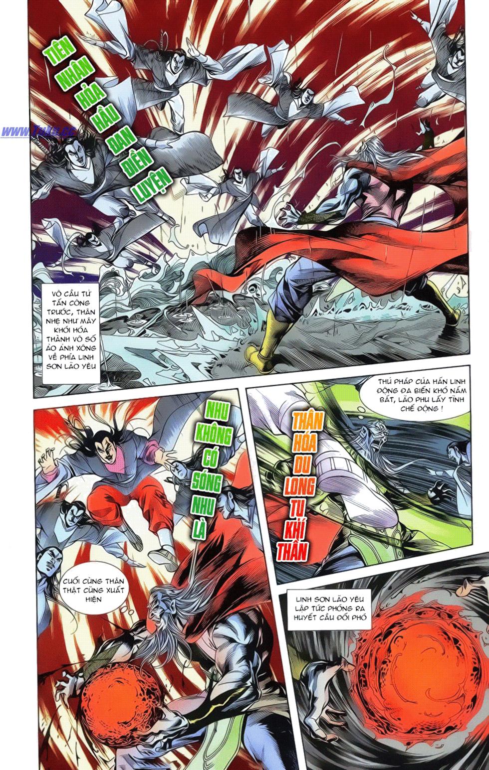 Tần Vương Doanh Chính chapter 19 trang 5