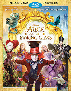 Ralph Tribbey, Alice Through the Looking Glass, DVD & Blu-ray Release Report