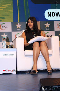 Ekta Kapoor Anurag Kashyap & Ramesh SippyAt at FICCI FRAMES 2017  0025.JPG