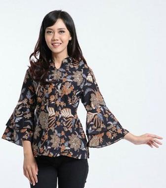 Model Baju Seragam Batik Guru Terbaru