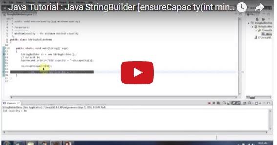 Java ee java tutorial java stringbuilder for Object pool design pattern java