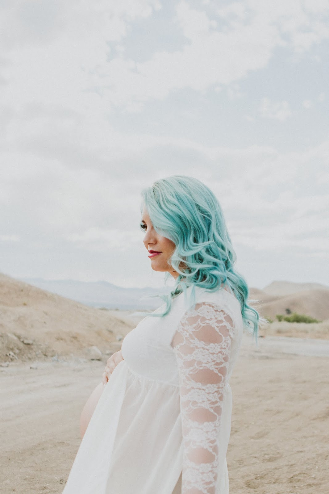 Blue Hair, Overtone, Mint Hair