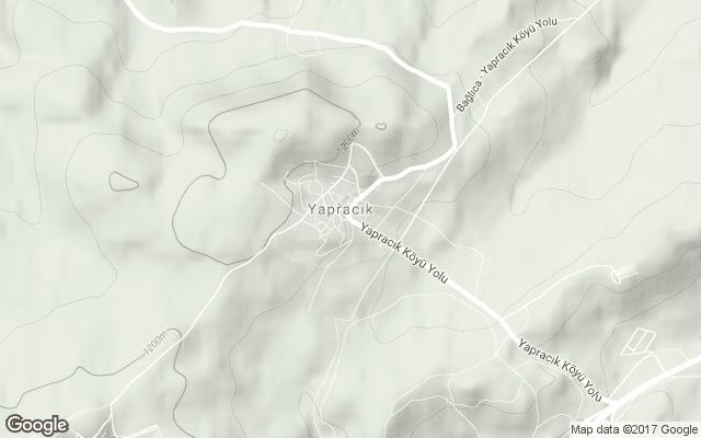 yapracık harita
