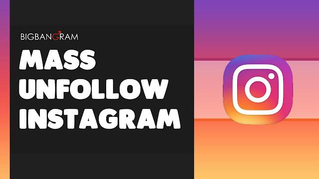 Cara Unfollow Akun Instagram yang Tidak FollBack