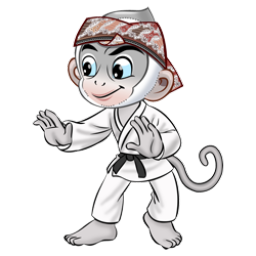 Logo dan Lambang Cabang Olahraga PON Jabar 2016 Judo
