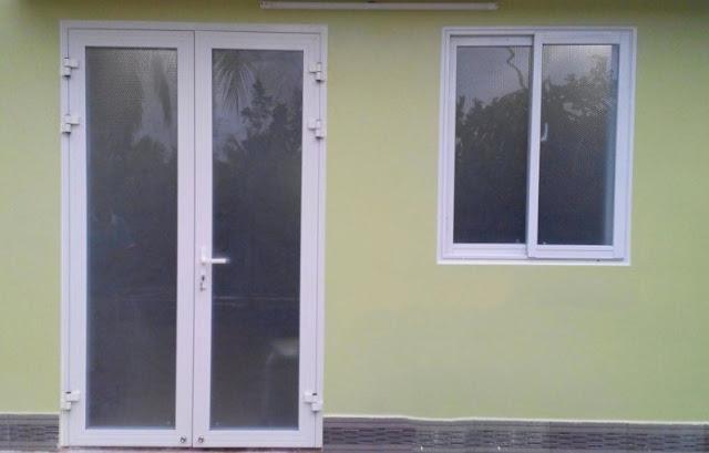 Cửa sổ 2 cánh mở trượt nhôm xingfa