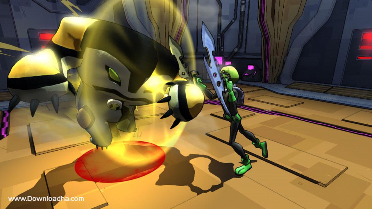 ben 10 omniverse undertown chase game free download