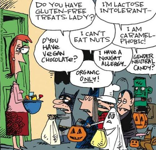 Funny Halloween Jokes Facebook Status