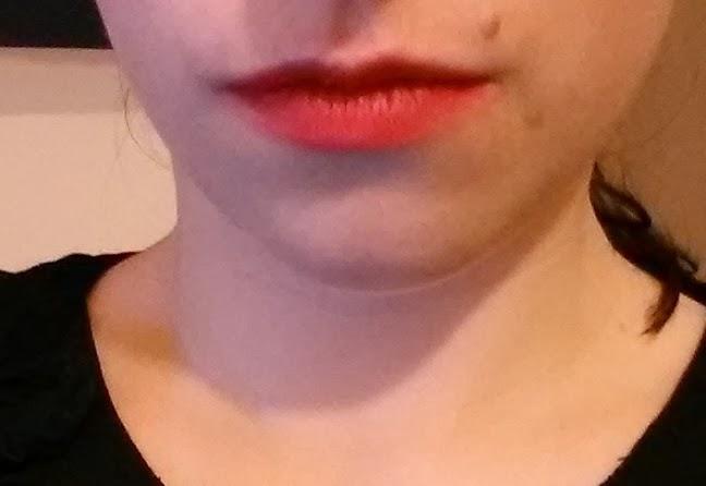 Rouge à lèvres round NYX avis tenue eros