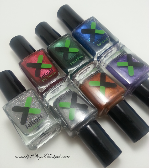 Kilox Lacquers - World Opulence Collection