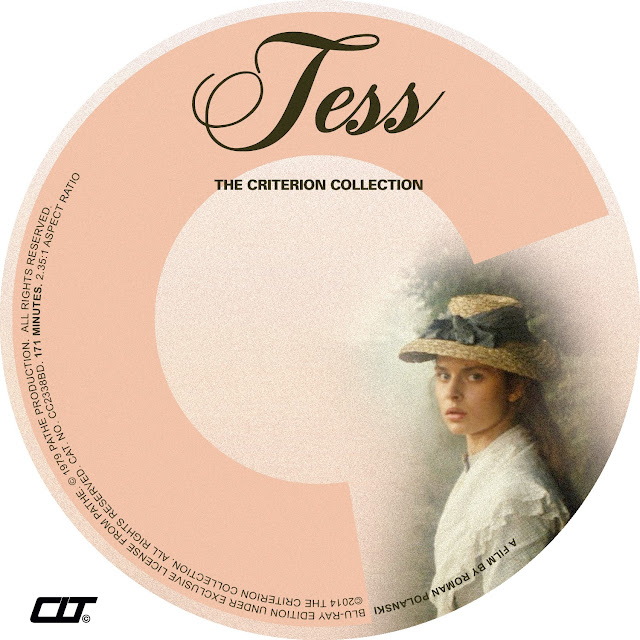 Tess (1979) Bluray Label
