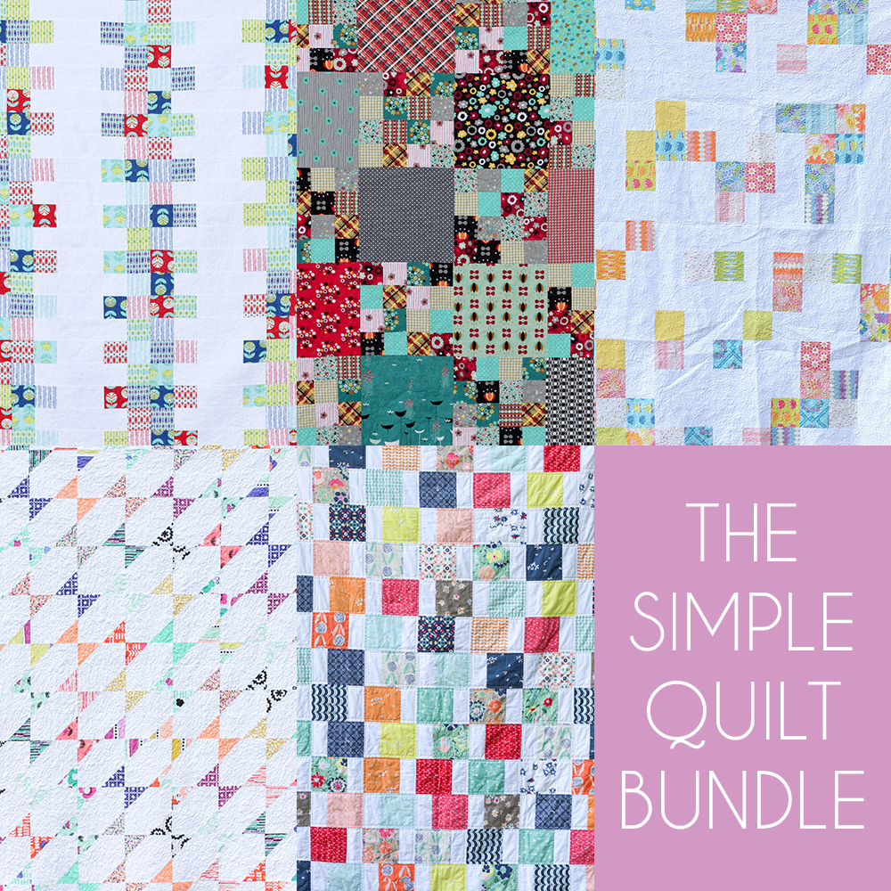 http://www.jenibakerpatterns.com/product/the-simple-quilt-pdf-pattern-bundle