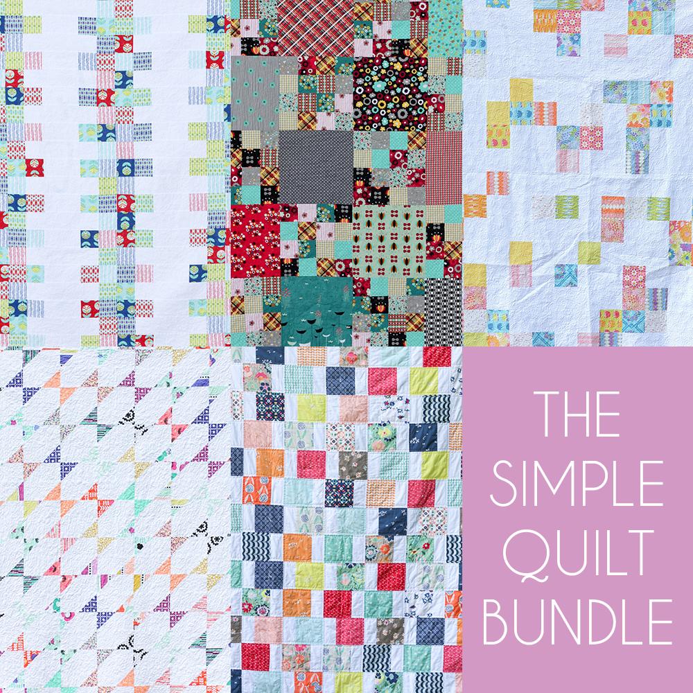 http://www.jenibakerpatterns.com/product/the-simple-quilt-pdf-pattern-bundle