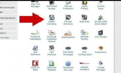 Cara addon domain dan instal wordpress di cpanel
