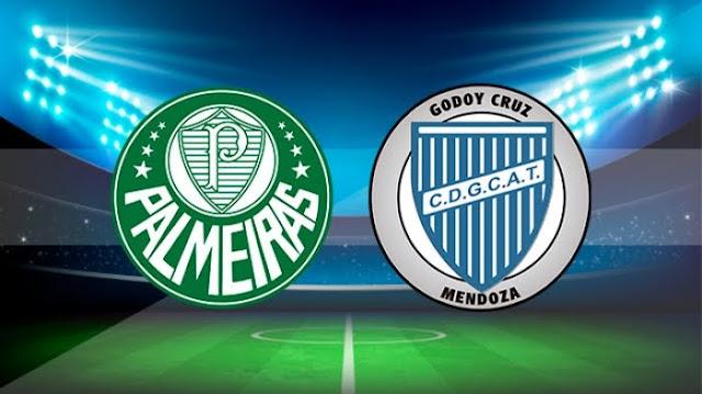 Assistir Palmeiras x Godoy Cruz Ao Vivo