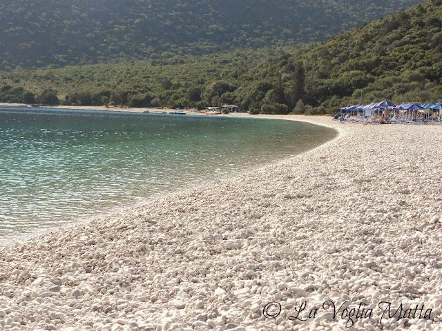 spiaggia di Antisamos, isola di Cefalonia