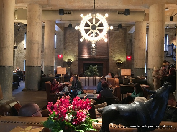 lobby of Hotel Emma in San Antonio, Texas