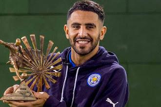 Mahrez wins BBC African Player of the Year award