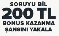 Soruyu Bil 200TL Kazan