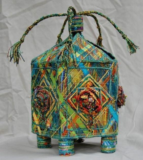 pudełko tekstylne