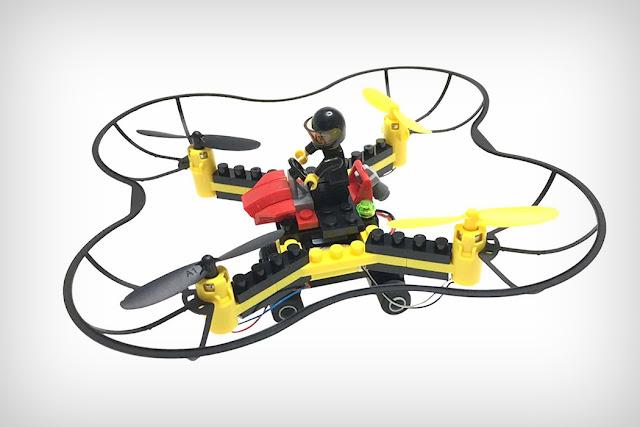 Kreasi Unik Drone Lego